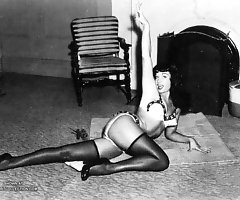 Kinky nude Betty Page